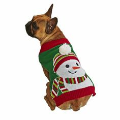 dog christmas jumper